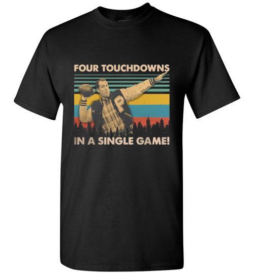 al bundy vintage four touchdowns singles game shirt