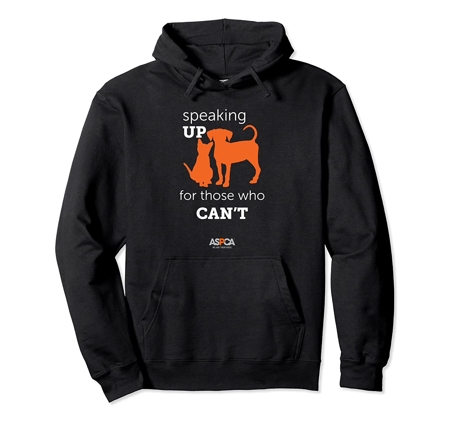 Aspca Speaking Up For Those Who Cant Hoodie