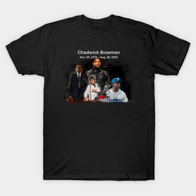Chadwick Boseman Iconic Actor T-shirt