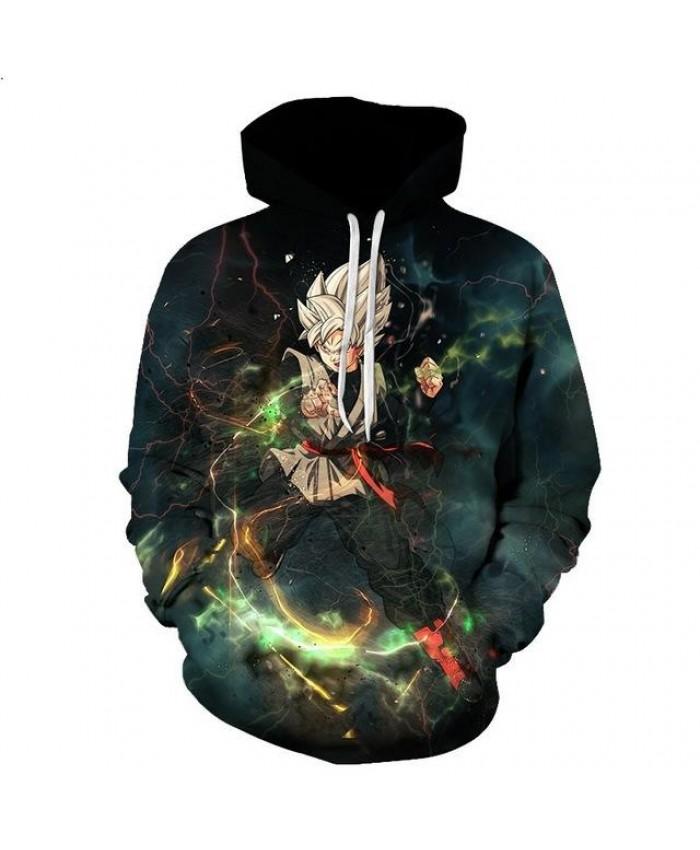 Classic Anime Dragon Ball Z Hooded Sweatshirt Fashion Outerwear Cool Goku 3d Print Hoodies Men Women Casual Pullover Plus Size