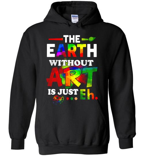 The Earth without Art is just Eh - Stamping with Colleen