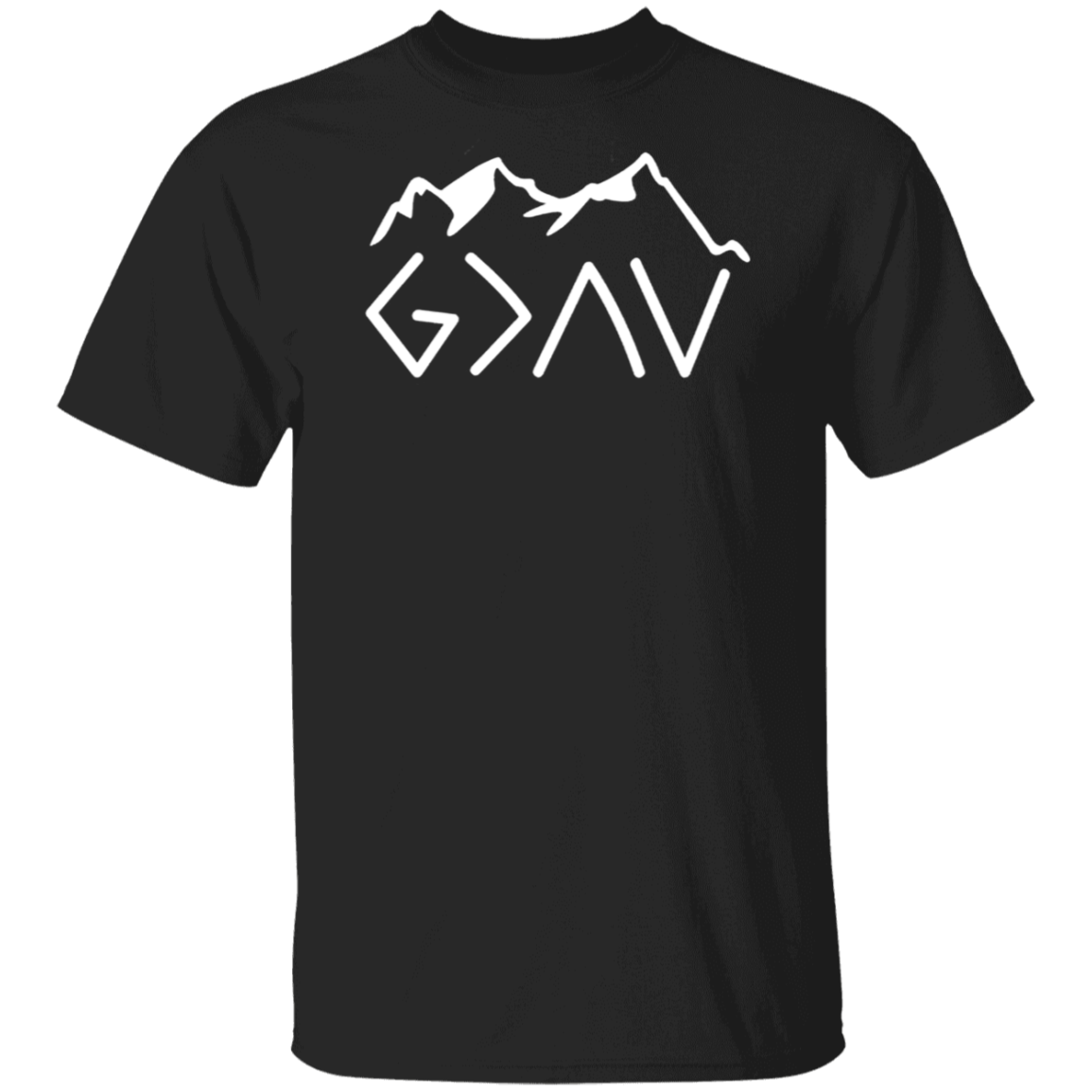 God Is Greater Than The Highs And Lows Unisex T Shirt