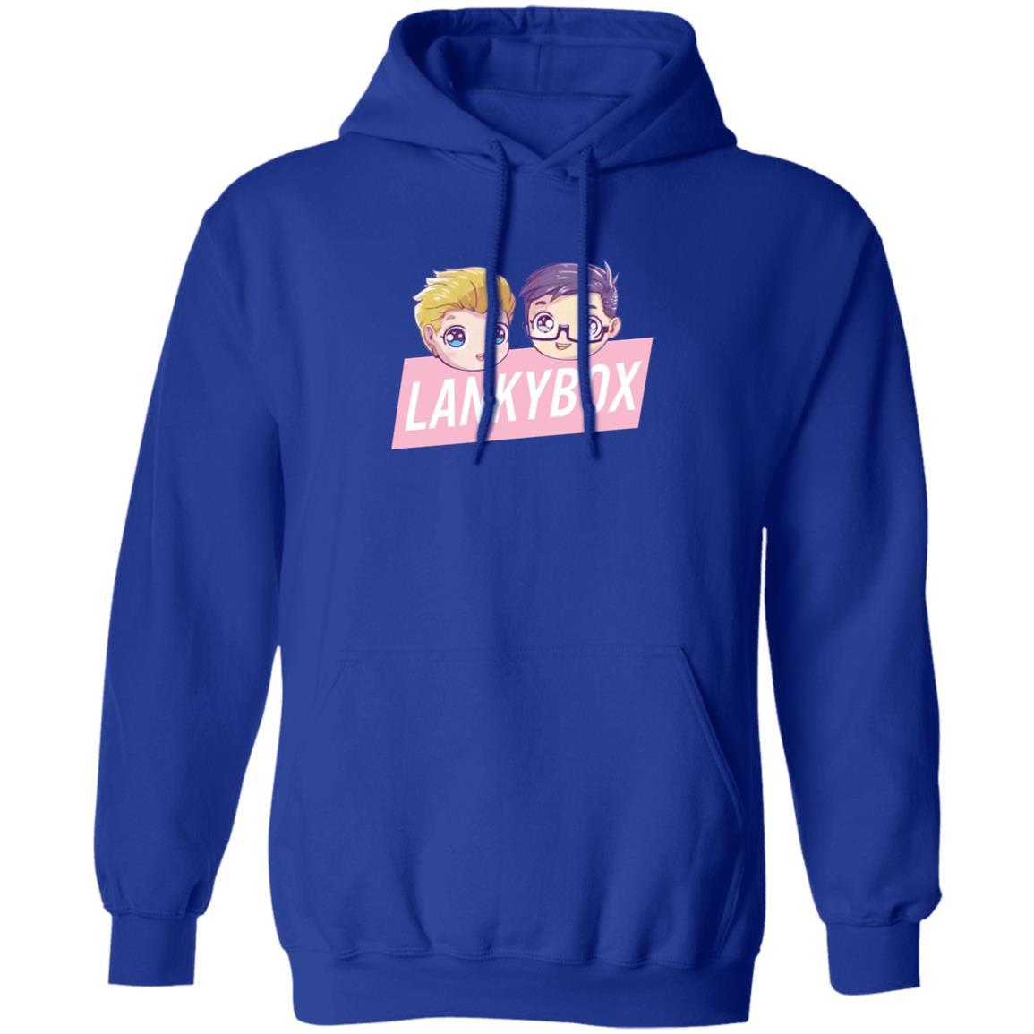 Lankybox Merch Lankybox Logo Hoodie T Shirt Sweat Shirt Funny Whiskey Shirt Royal