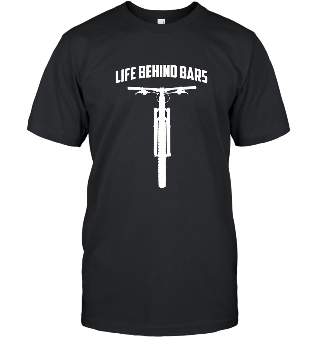 Life Behind Bars Funny Mtb Mountain Bike T Shirt T-shirt