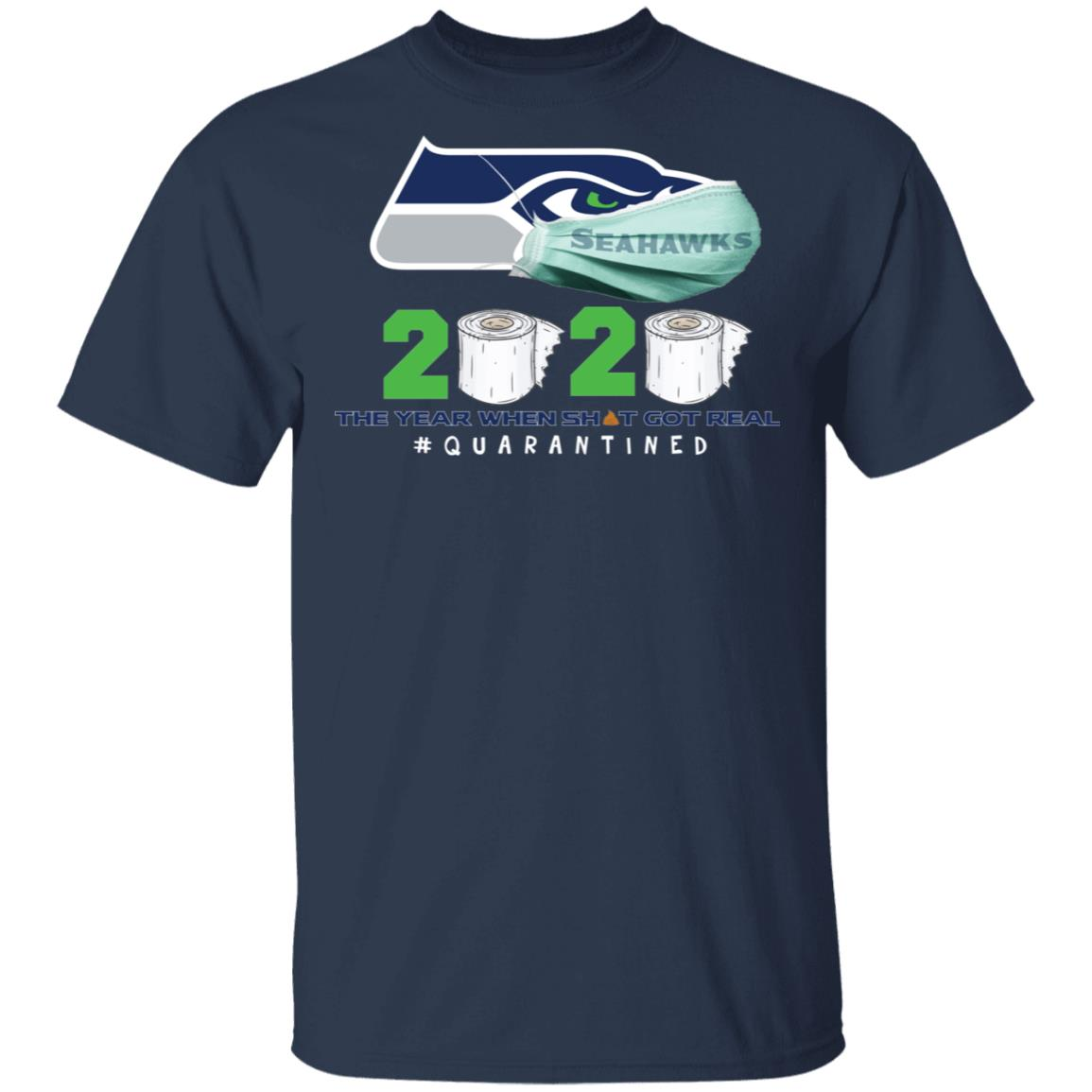Seattle Seahawks Mask 2020 The Year When Shirt