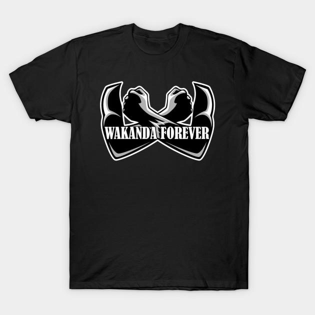Wakanda Forever Black Panther T-shirt