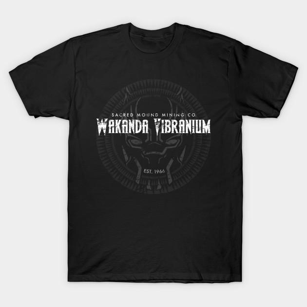 Wakanda Vibranium T-shirt